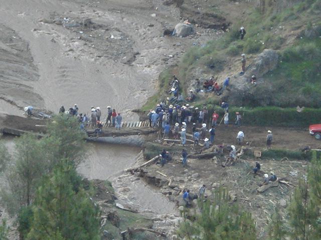Efectos de la tormenta Ágatha en Guatemala