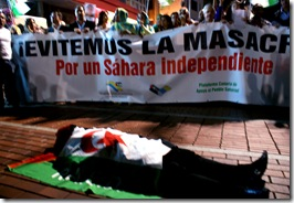 Con el pueblo Saharaui