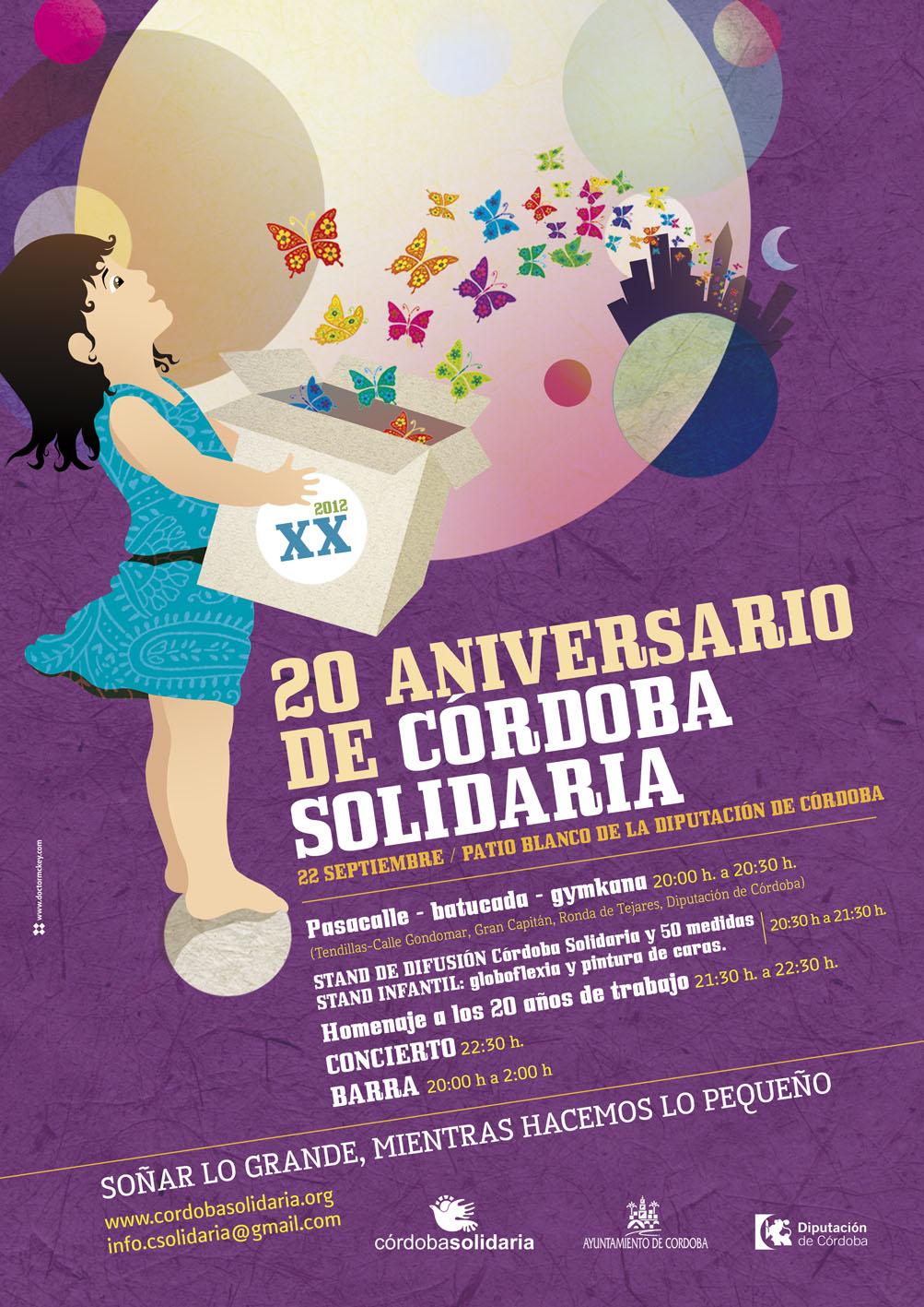 Córdoba Solidaria conmemora su 20 Aniversario