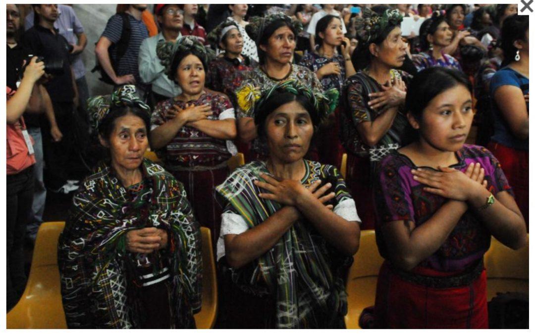 «Vamos a romper el muro de la impunidad en Guatemala». Asociación Justicia y Reconciliación
