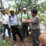 Charla sobre parcelas integrales sostenibles en Sololá.