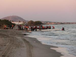 refugiados-llegan-a-Grecia