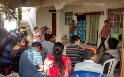 Gira a Aguacatán, Huehuetenango.