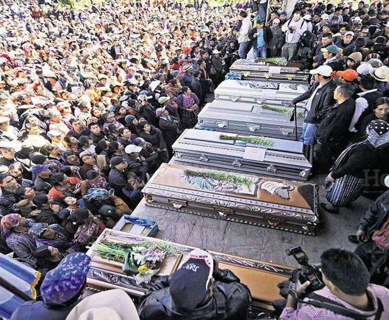 Guatemala: La primera masacre del ejército tras la firma de la Paz